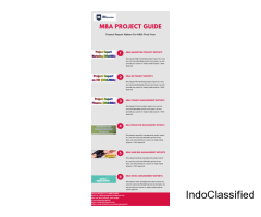 Project Report Makers For MBA Final Year