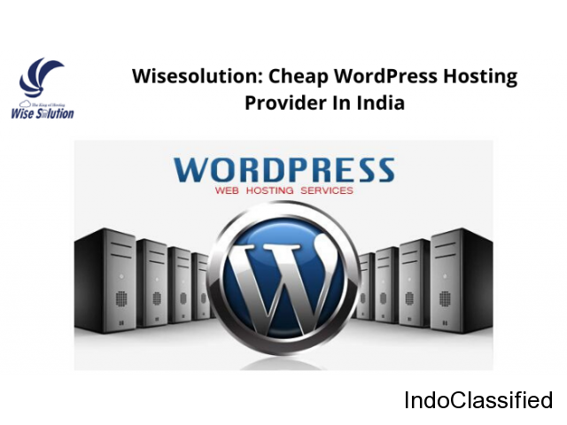 Wisesolution: Cheap WordPress Hosting Provider In India
