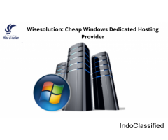 Wisesolution: Cheap Windows Dedicated Hosting Provider In India