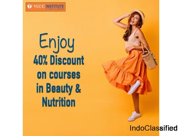 40% Discount on courses in Beauty & Nutrition