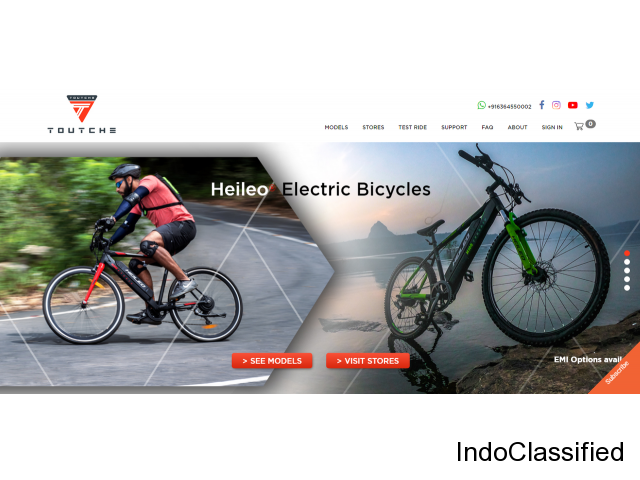 Best Electric Cycle In India | 2020 Top-Selling Electric Bikes | toutche.com