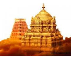chennai to tirupati package