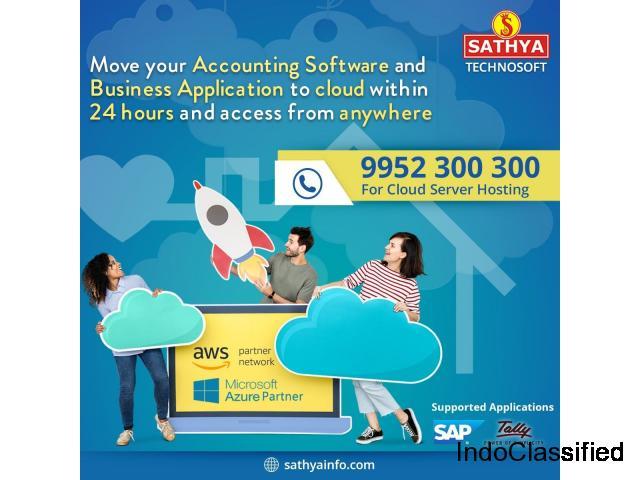 Cloud Server Hosting | Sathya Technosoft