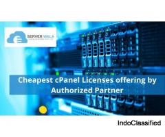 Cheapest cPanel Licenses offering by Authorized Partner