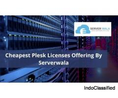 Cheapest Plesk Licenses offering by Serverwala