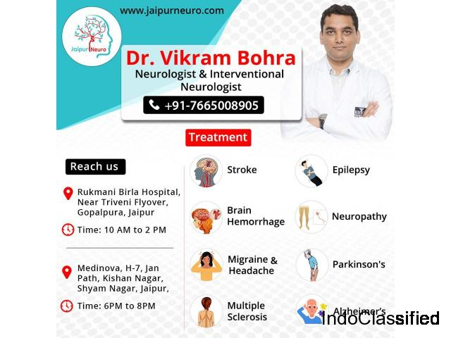 Dr Vikram Bohra is the Neurologist in Jaipur for Neurological Disorder Treatment.