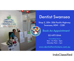 Emergency Dentist Swansea - Dentist for chickens