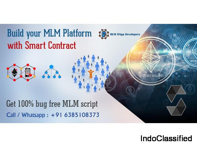 Decentralized MLM Software with Smart contracts-MLM Dapp developers