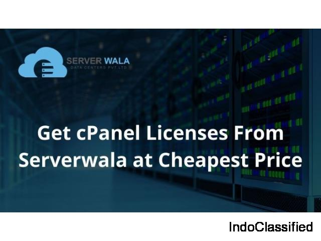 Get cPanel Licenses From Serverwala at Cheapest Price
