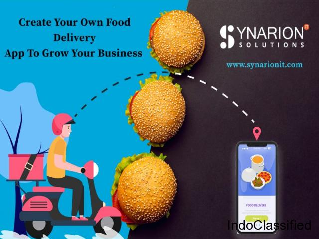 Create Your Own Food Delivery App To Grow Your Business