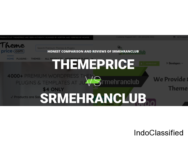 No Confusion In Between Two, Themeprice is better than Srmehranclub