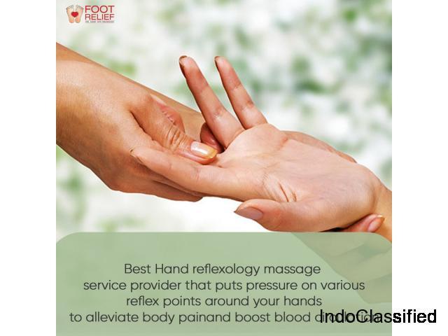 hand reflexology and massage service in alwarpet