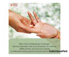 hand reflexology and massage service in alwarpet