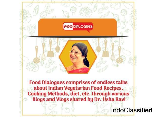 vegetarian food recipe blog