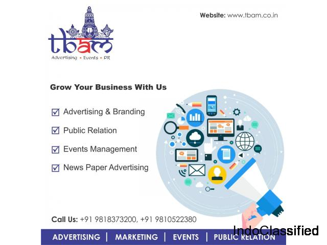 Advertising Agency in Ghaziabad | TBAM