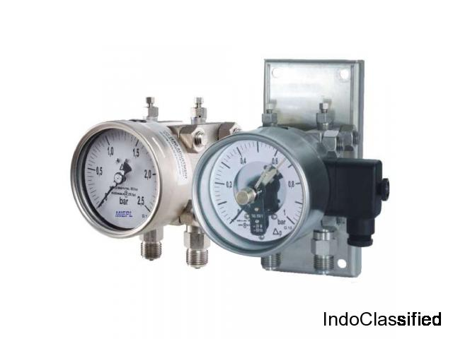 MP10 Differential Pressure Gauge - Double Diaphragm | MIEPL