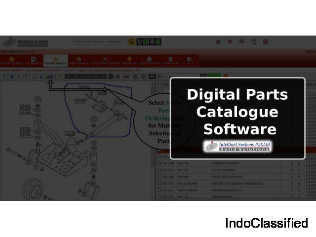 Digital Parts Catalogue Publishing Software
