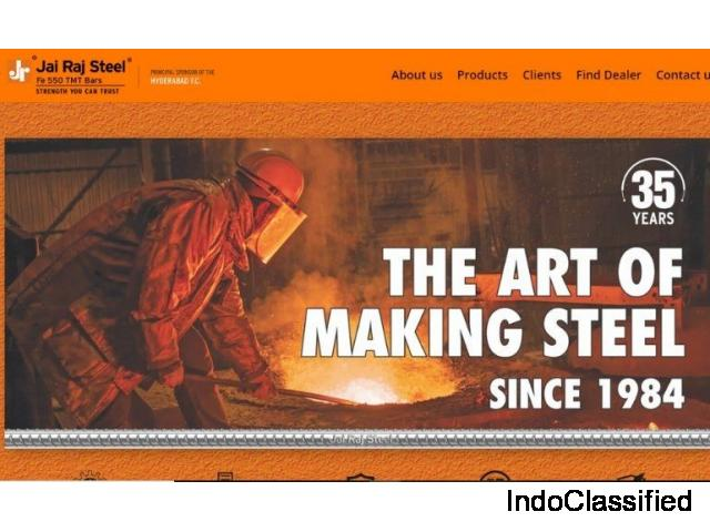 Best TMT steel Bar manufacturer and supplier in Hyderabad Telangana.