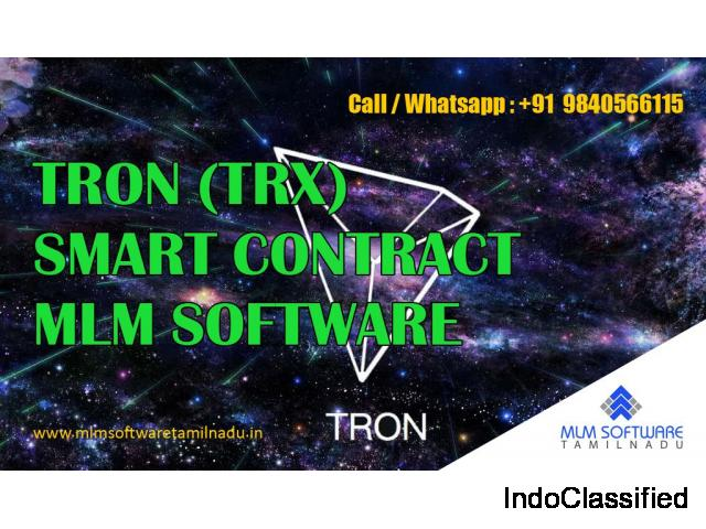 TRON (TRX) Smart Contract MLM Software Development Company-MLM Software Tamilnadu