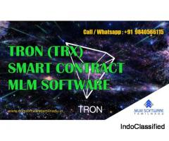 TRON (TRX) Smart Contract MLM Software Development Company-MLM Software Tamilnadu