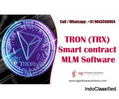 TRON (TRX) Smart Contract MLM Software Development Company-OG software solutions