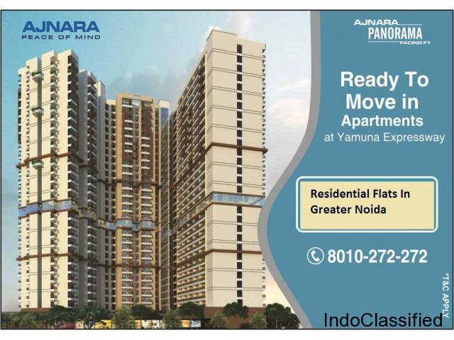 Ajnara Panorama - 2 Bhk Flat In Greater Noida Ready To Move