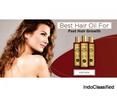 For Excessive Hair Fall Use Herbal Hair Oil