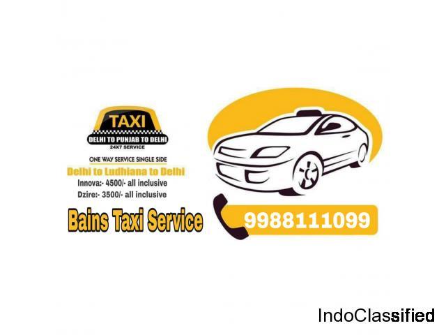 Bains Taxi Service in Ludhiana