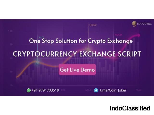 Bitcoin and Cryptocurrency Exchange Script - Coinjoker