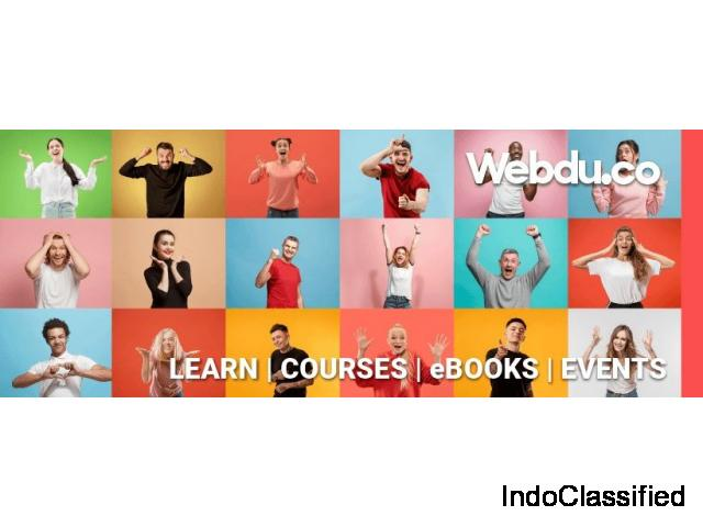 Webdu | Build your Skills with Courses, E-books & Events