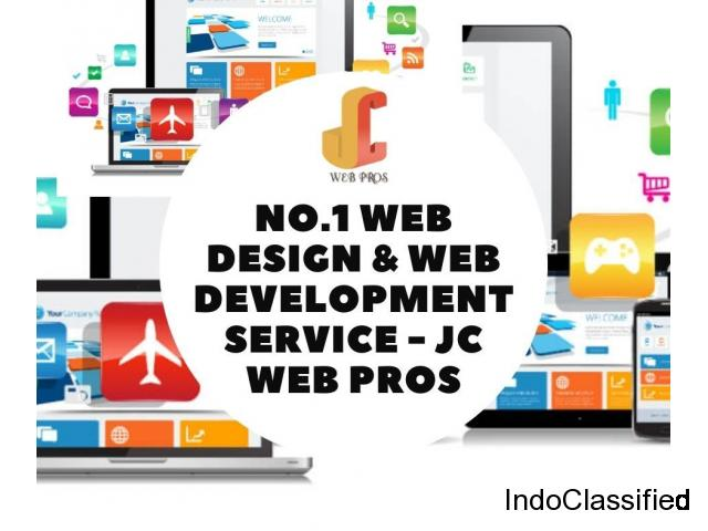 No.1 Web Design & Web Development Service - JC Web Pros