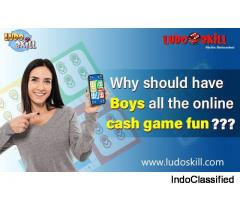 Why should have boys all the online cash game fun?