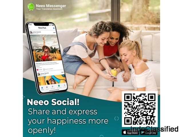 Neeo - Free chat Messenger