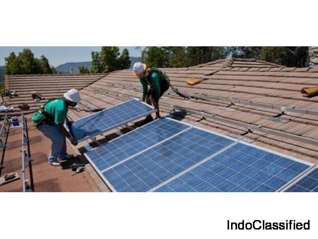 Solar power installation For industry