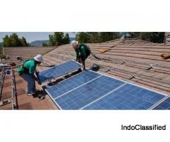 Solar power installation For industry