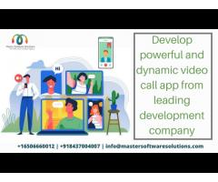 Video Calling Mobile App Development