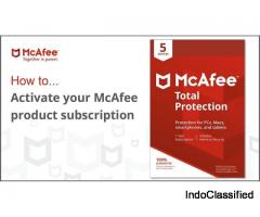 How to activate mcafee antivirus?