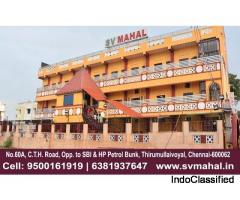 marriage halls in ambattur