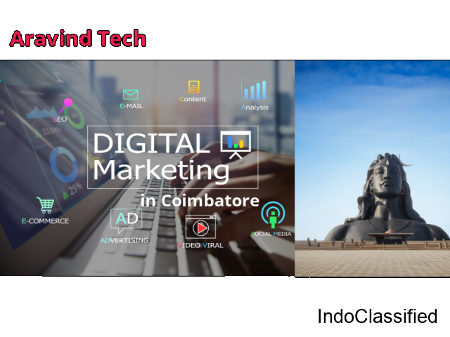 Digital marketing company in Coimbatore Aravind Tech Inc.