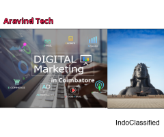 Digital marketing company in Coimbatore Aravind Tech Inc.