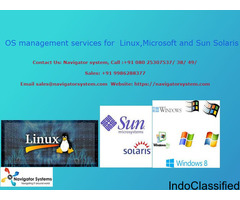 OS management services for  Linux,Microsoft and Sun Solaris