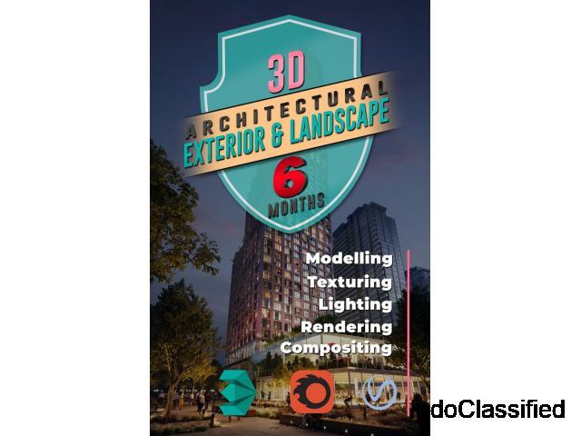 Architecture Exterior Rendering and Landscape Design Courses online