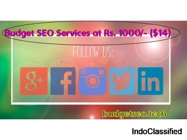 Affordable SEO Solutions in Kolkata, India at ₹1000