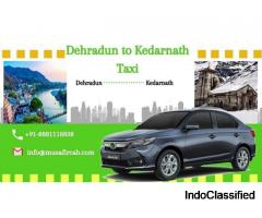 Dehradun to Kedarnath Taxi Service, Dehradun to Kedarnath Cab Service