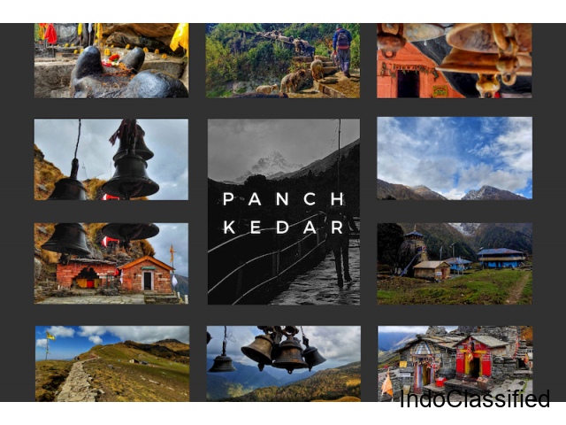 Panch Kedar Yatra Tour Package at the Best Cost in Uttarakhand
