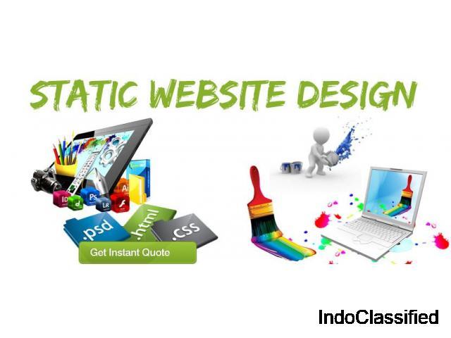 static website designing