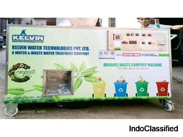 Kelvin-Manure Maker Machine | organic waste converter machine