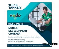 Hire NodeJs Developer Bangalore, Ahmedabad, Pune, Mumbai - ThinkTanker