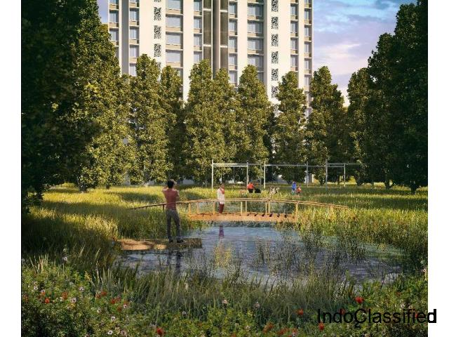 Lodha Upper Thane offers  1 BHK and 2 BHK Garden Homes and 3 BHK flats for sale in Thane