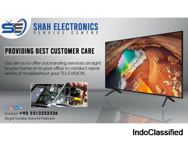 Shah Electronics  LCD LED UHD 3D 4K & PLASMA TV. Professional Repairing & home services
